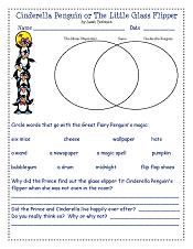 Cinderella-Penguin-or-The-Little-Glass-Flipper-book-companion-worktsheet