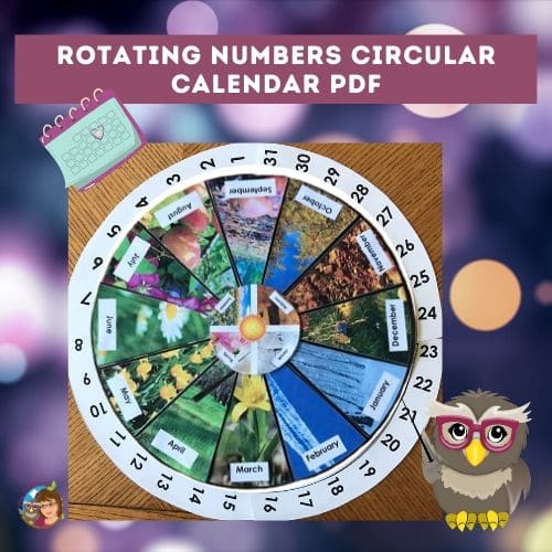 circular-calendar-on-the-Montessori Page