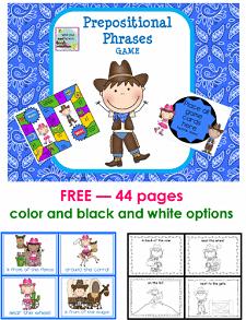 cowboy-theme-prepositional-phrases-game