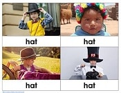 four-diverse-children-in-hats-one-page-of-free-printable-PDF