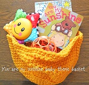 my-sunshine-my-star-baby-theme-basket