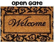 open gate for classroom activity