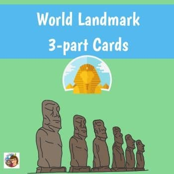 world-landmark-3-part-cards-free