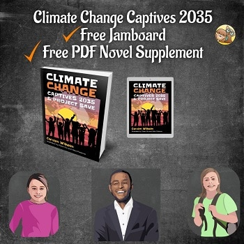 Climate Change Captives 2035 and Project Save by Carolyn Wilhelm