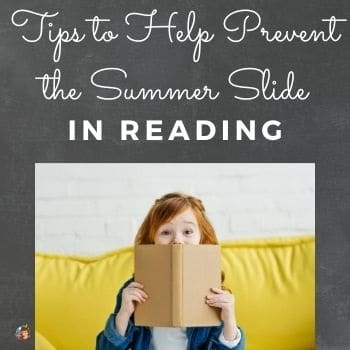 Tips to Help Prevent the Summer Slide in Reading