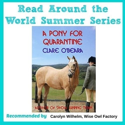 Review-A-Pony-for-Quarantine-by-Clare-O-Beara-Read-Around-the-World-Summer-2020