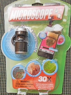 Mini Microscope for Phone or Tablet Camera