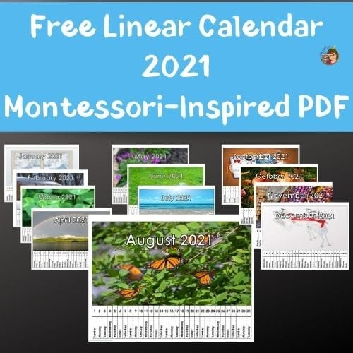 linear-classroom-calendar-for-2021-Montessori-Inspired-free