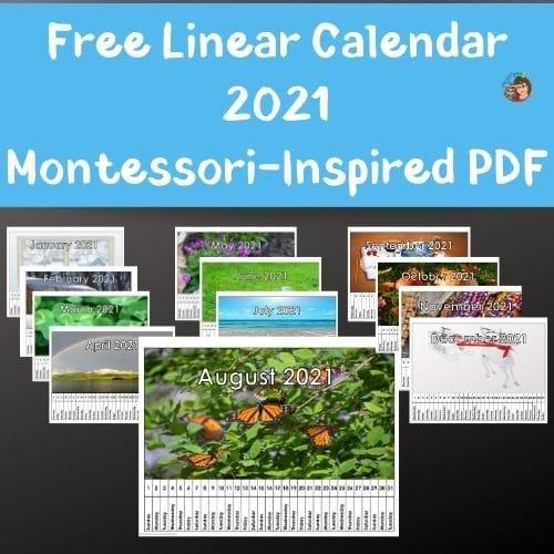 linear-classroom-calendar-for-2021-Montessori-Inspired-free