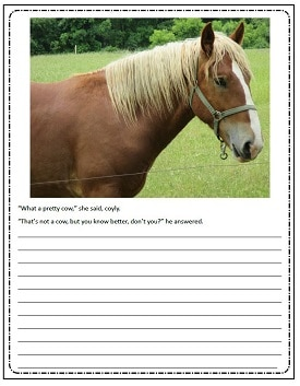 Horse-writing-prompt