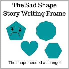 Sad-shape-writing-frame-change-shapes-to-see-the-world-as-new-freebie