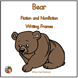 bear-writing-frames-narrative-and-expository-printable