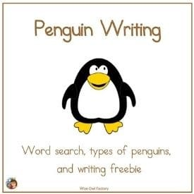 penguin-writing-and-word-search-freebie