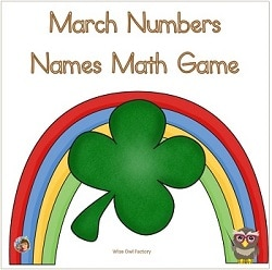 number-names-March-math-match-game-freebie