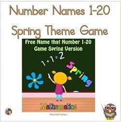 number-names-spring-theme-freebie-PDF