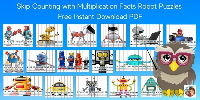 skip-counting-and-multiplication-facts-math-robot-puzzles