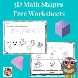 3-D-shapes-printable-worksheets-freebie