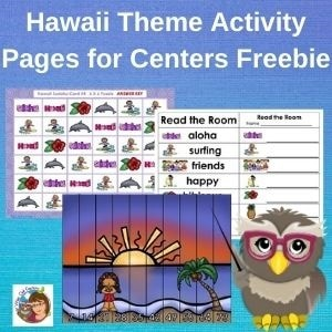 Hawaii-theme-activity-pages-for-centers-free-download