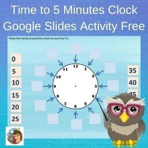 time-to-5-minutes-clock-google-slides-activity-free