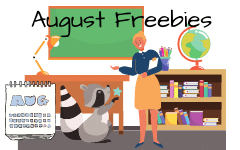 August Free Educational Resources