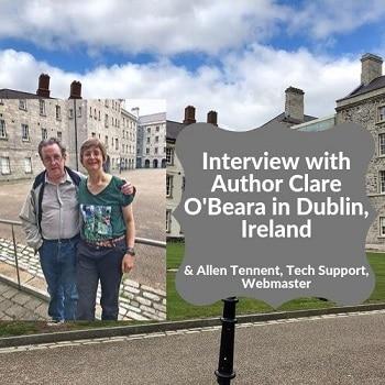 Clare-O-Beara-author-interview-Dublin-Ireland