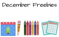 December Free Educational Materials