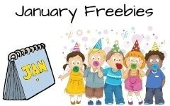 January free educational resources mostly K-1
