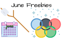 June Freebies for Elementary Education