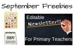 September Free Educational Resources