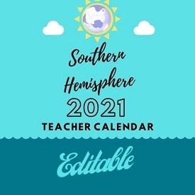 southern-hemisphere-2021-editable-PDF-calendar-teachers