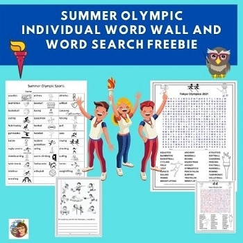 summer-olympic-individual-student-word-wall-with-word-search-freebie
