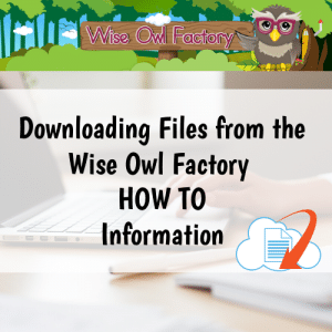 How to Download Wise Owl Factory Free and Priced PDFs