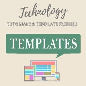 technology tutorials and templates