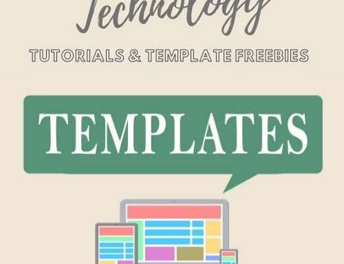 Technology Tutorials and Template Freebies