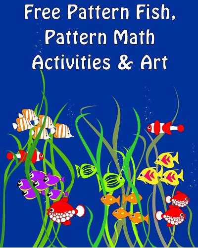 Pattern Fish Pattern Math photo of pages