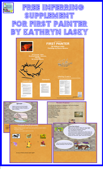 free inferring q and a for first painter children's book