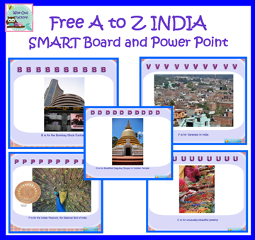 info photo for India A to Z presentation