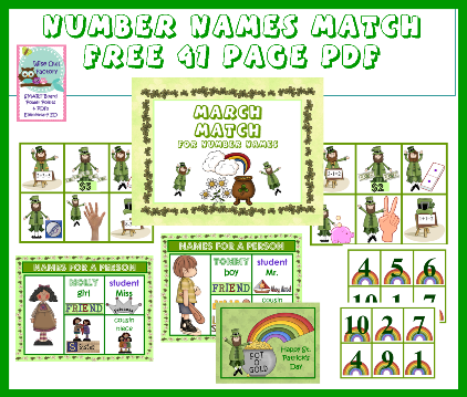 names for numbers pages photos